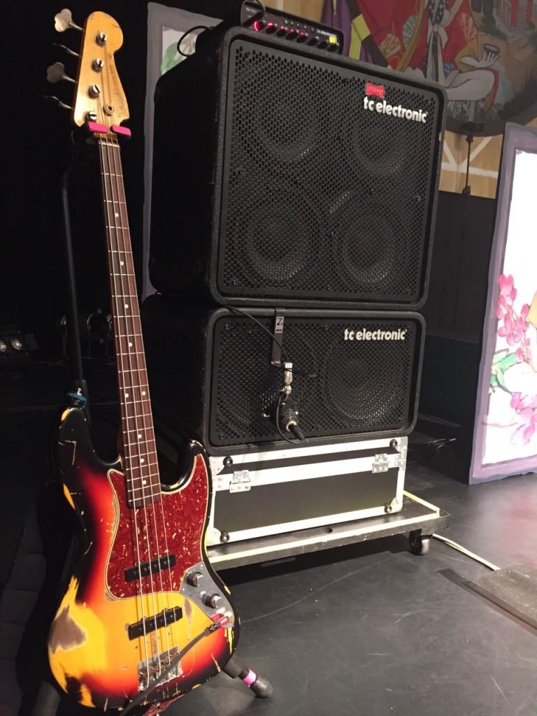 露崎氏Fender CS/Jazz Bass 2knob①