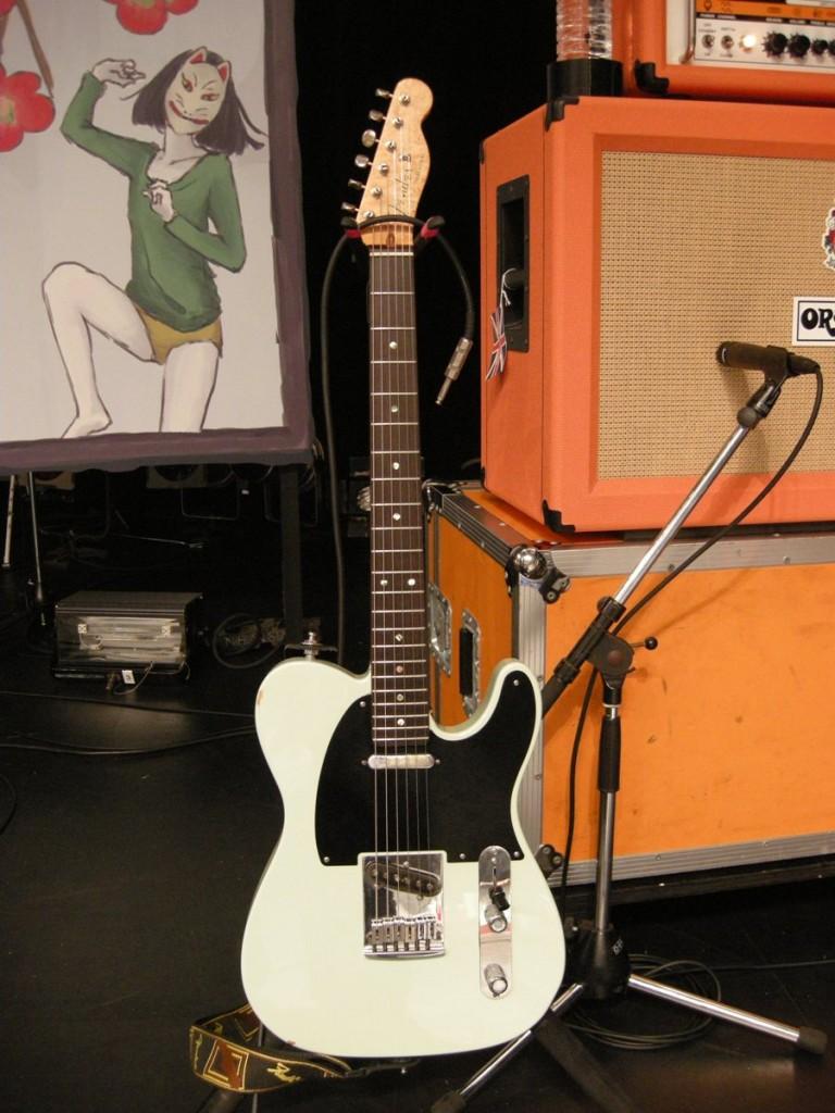 三澤氏Fender CS/Telecaster①