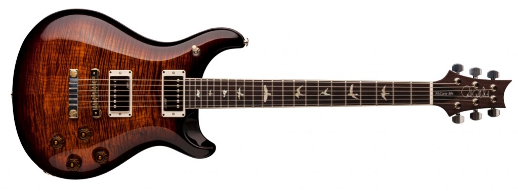 McCarty 594 Black Gold Wrap Burst
