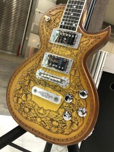 Custom Shop Superior Series のNEWモデル「WOOD LEAF」Maple