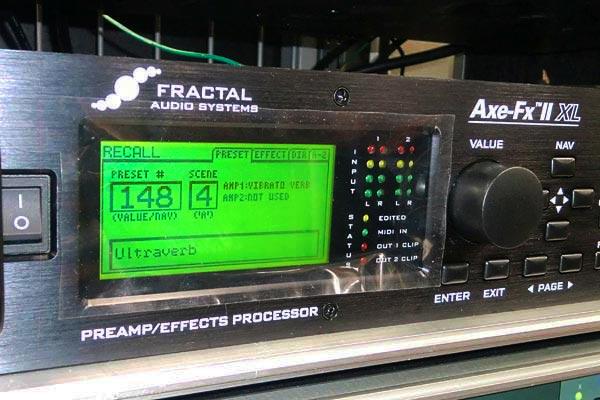 fractal audio systems axe fx徹底解説 scene機能のご紹介