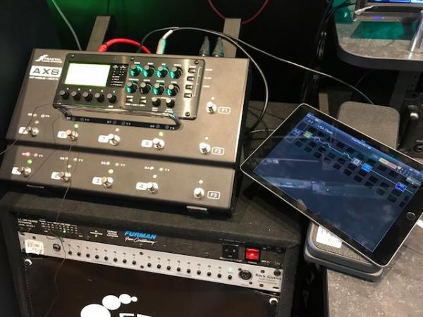 fractal audio systems製品をスマホ タブレットで操作 エディットが